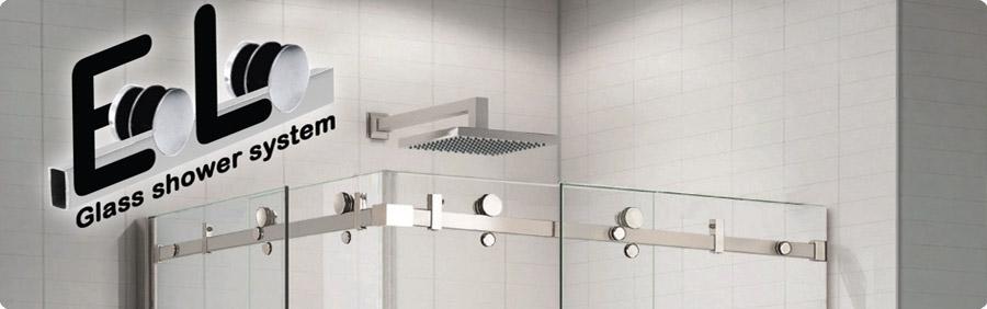 sistema de puertas de baño eolo