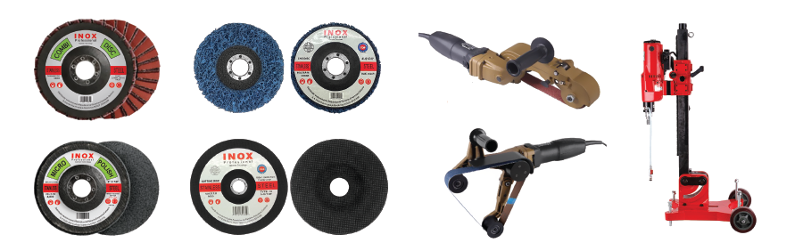 Abrasives for stainless steel