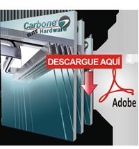 Catálogo Elite Hardware para Vidrio Templado
