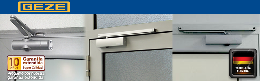 Geze Overhead Door Closer Systems