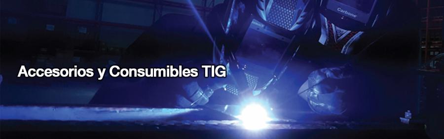 Accesorios y Consumibles TIG