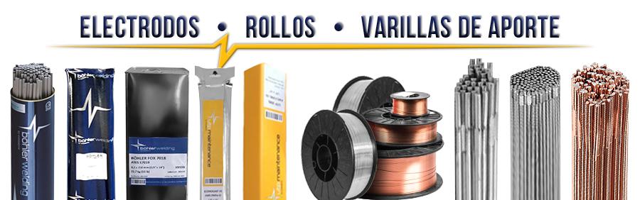 Electrodos y Materiales de Aporte