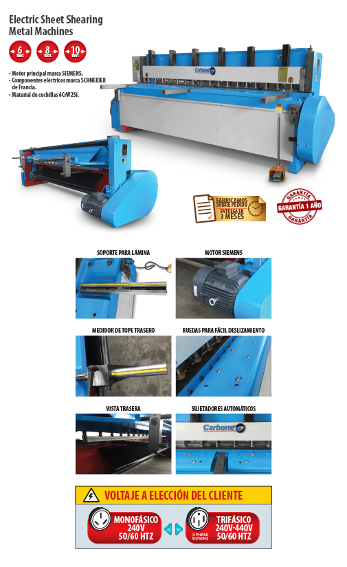 Hydraulic Sheet Shearing Machines