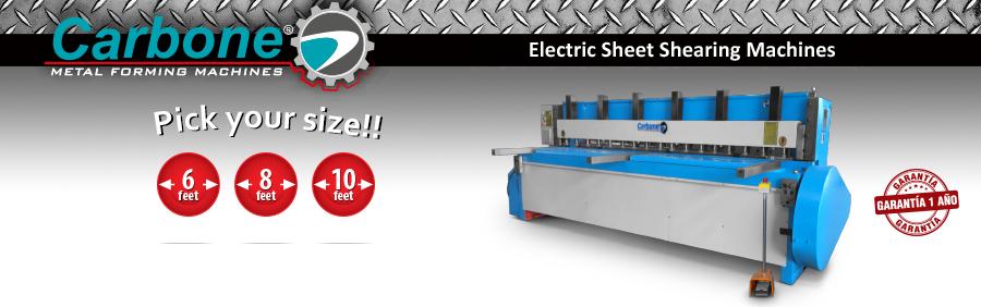 Electric Sheet Shearing Machines