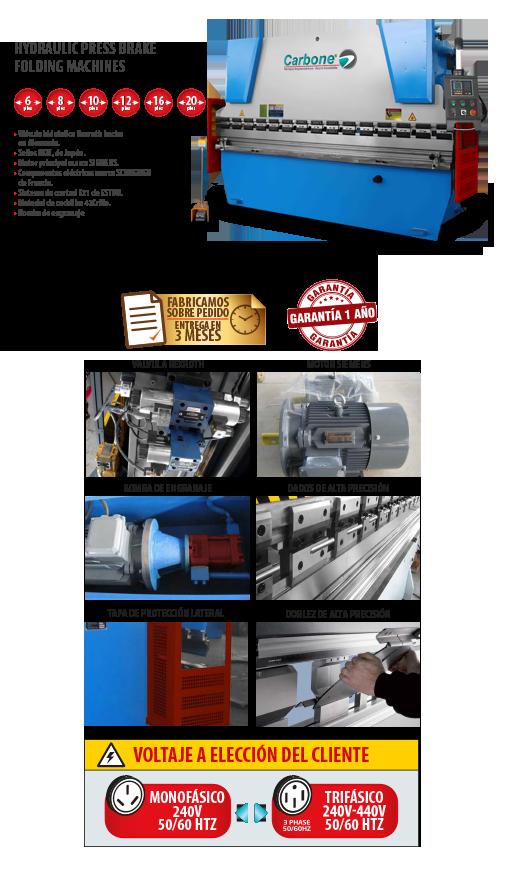 Hydraulic Press Brake Folding Machines