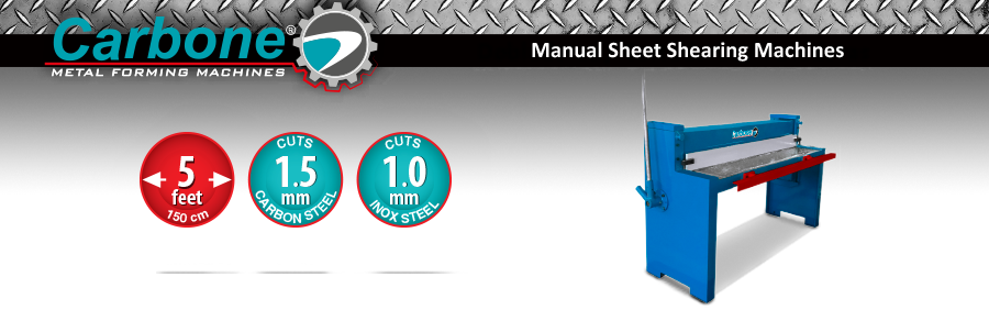 Manual Sheet Shearing Machines