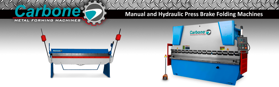 Manual and Hydraulic Press Brake Folding Machines