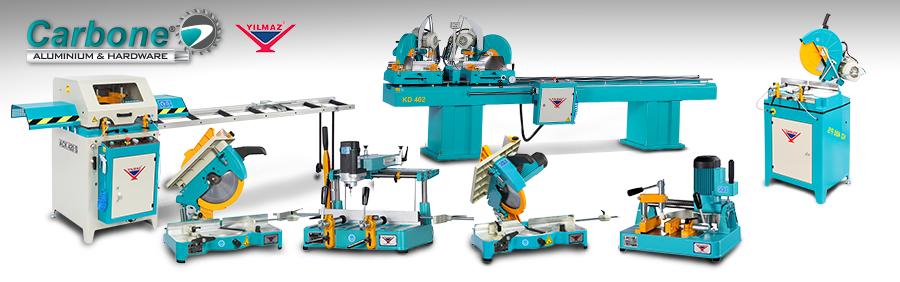 Máquinas para aluminio y PVC