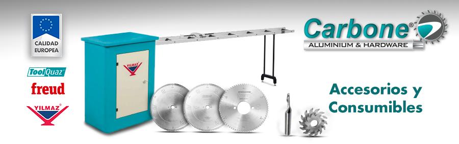 Accesorios para Máquinas para Aluminio y PVC