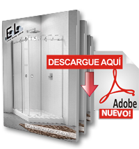 Catálogo Sistema de puertas de baño EOLO