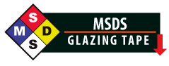 Glazing Tapes MSDS