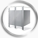 DIVIDERS FOR PUBLIC RESTROOMS
