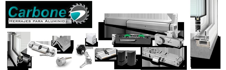 Empresas carbone perfiles y herrajes de aluminio en for Perfiles aluminio para muebles