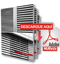 Catálogo Sistema de Louvers de Aluminio