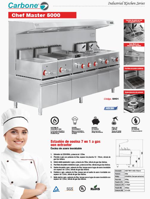 Cocina Profesional Chef Master