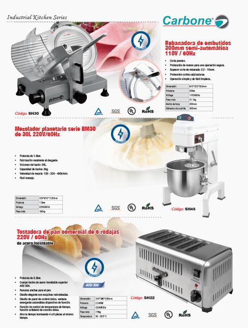 Maquinas De Cocina | Empresas Carbone Maquinas Para Cocina Profesionales Empresas