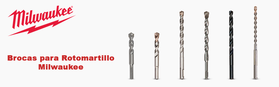 Brocas para Rotomartillo Milwaukee
